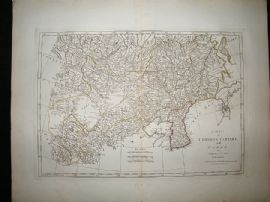 China & Korea: 1794 Antique Map. Samuel Dunn, Laurie & Whittle